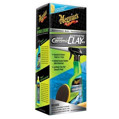 Hybrid Ceramic Quik Clay Kit 532ml | Meguiars