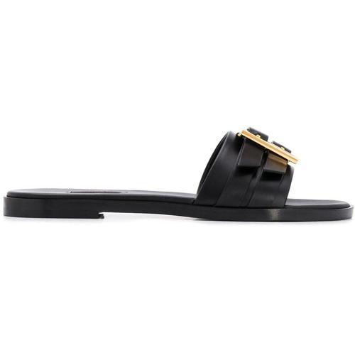 Versace Sandalen mit Schild