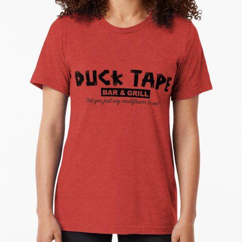 Duck Tape Bar and Grill Tri-blend T-Shirt