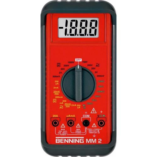 Benning Digital Multimeter MM2 044028