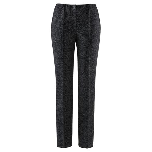 Avena Damen Jersey-Hose Grau gemustert