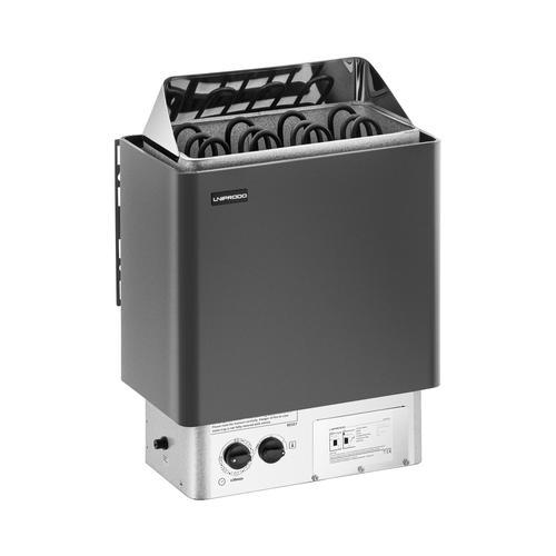 Uniprodo Saunaofen - 6 kW - 30 bis 110 °C - inkl. Steuerung UNI_SAUNA_B6.0KW