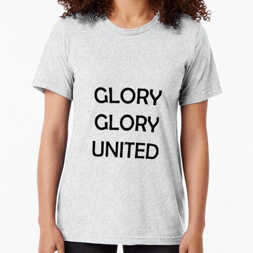 Glory Glory United Tri-blend T-Shirt