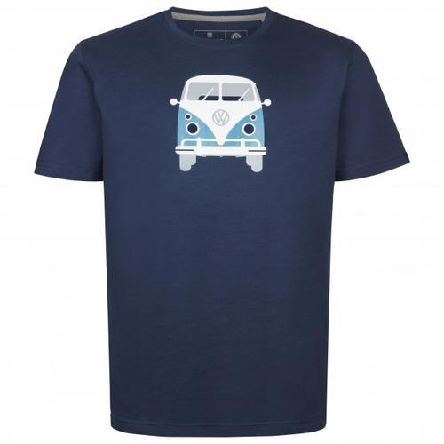 Elkline - Methusalem - T-Shirt Gr L blau/schwarz