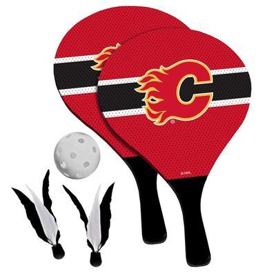 Calgary Flames 2-in-1 Birdie Pickleball Paddle Game