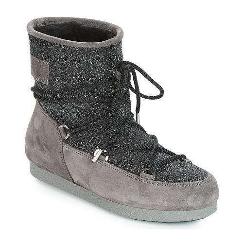 Moon Boot FAR SIDE LOW SUEDE GLITTER Moonboots (damen)