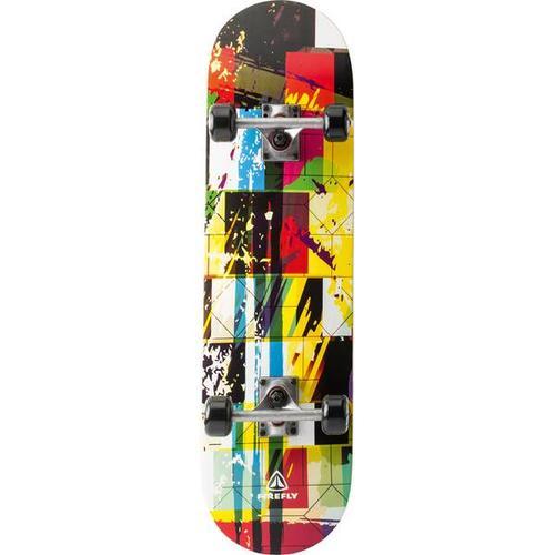 FIREFLY Skateboard Graffiti, Größe ONE SIZE in Schwarz/Blau/Gelb/Rot