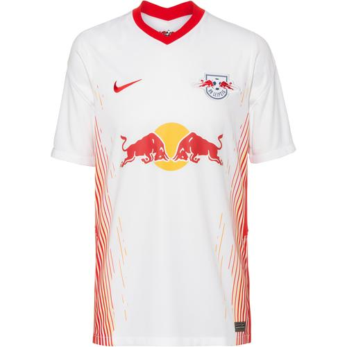 Nike RB Leipzig 20-21 Heim Trikot Herren in white-university red, Größe L