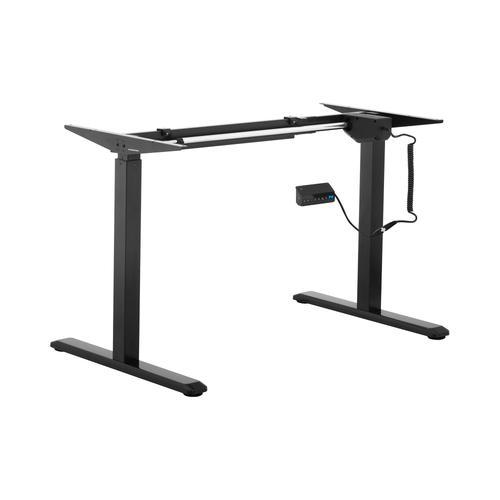 Fromm & Starck Höhenverstellbares Schreibtischgestell - 200 W - 80 kg - schwarz STAR_ATFE_04
