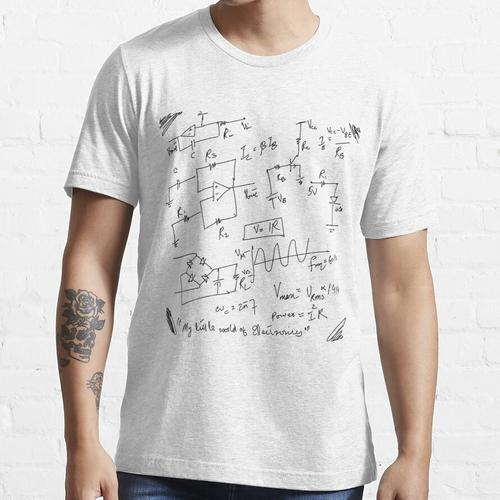 Elektronikschaltungen und Schaltpläne (Kleine Welt der Elektronik) Essential T-Shirt