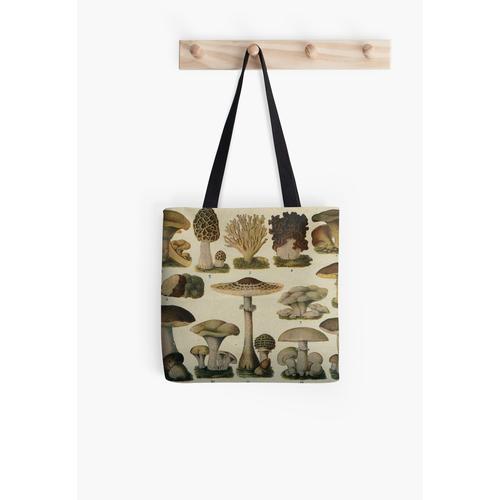 Essbare Pilze Tasche