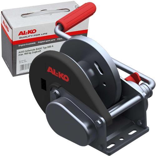 Al-ko Seilwinde Bootstrailer Basic Typ 900-a Gebremst 900kg Ohne Seil Gurtband Al-ko: 122.53.01