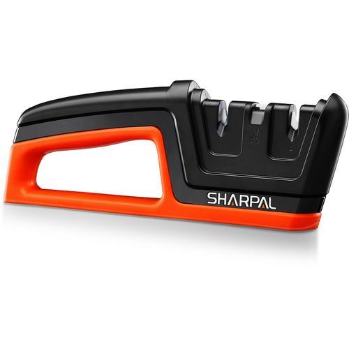 SHARPAL Messerschärfer Knife & Scissors Sharpener - Fashion Version schwarz Schärfgeräte Werkzeug Maschinen