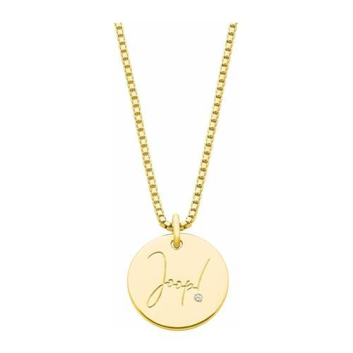 Kette mit Anhänger für Damen, Sterling Silber 925 JOOP! Gold