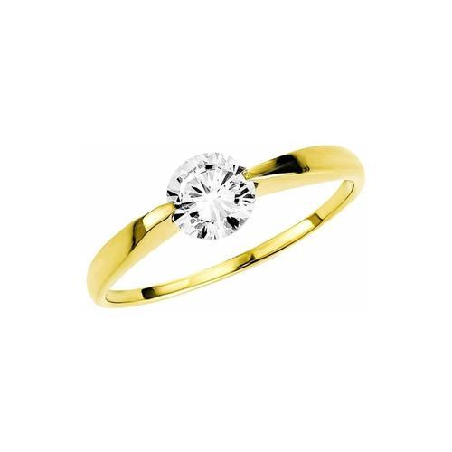 Ring für Damen, Gold 333, Zirkonia amor Gold