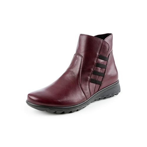 Avena Damen Ultrasoft-Bequem-Boots Rot