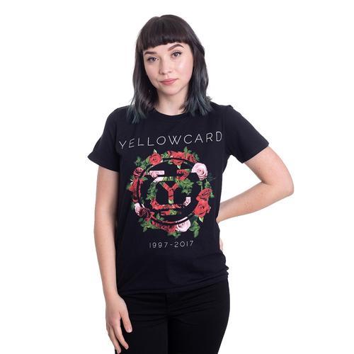 Yellowcard - Floral - - T-Shirts