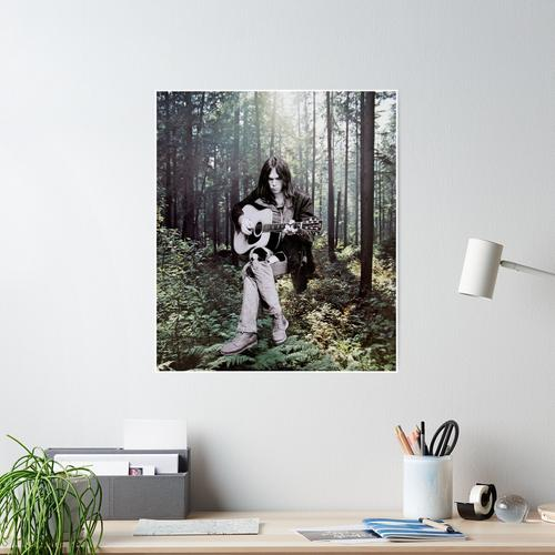 Neil in the Forest Poster