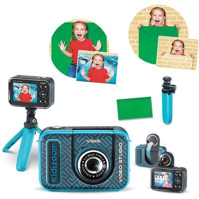 Vtech Kinderkamera KidiZoom Video Studio HD, 5 MP, inkl. Selfie-Funktion und Ministativ blau Kinder Kidizoom Elektronikspielzeug