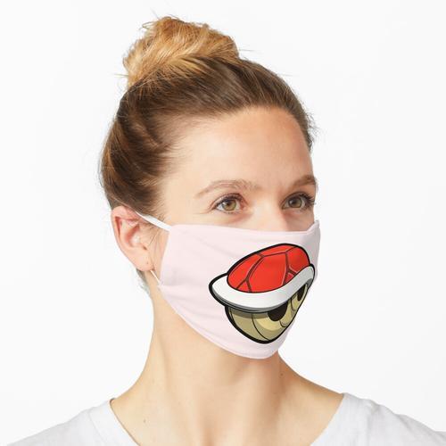 Rote Schale Maske