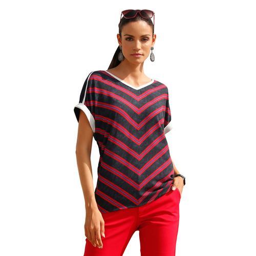Amy Vermont Shirts mit metallisiertem Garn schwarz Damen T-Shirts Sweatshirts (mit Arm)