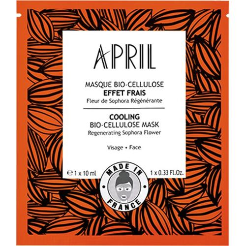 April Paris Masque Bio-cellulose Effet Frais / Cooling Bio-cellulose Mask Sachet x1 Gesichtsmaske