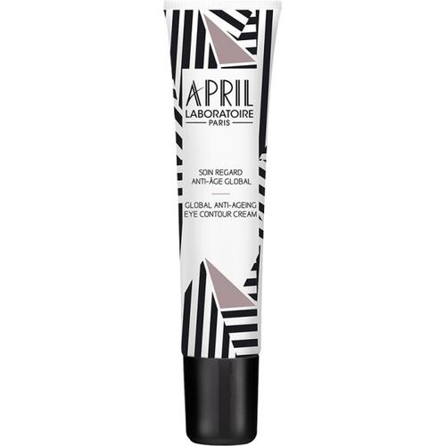 April Paris Soin Regard Anti-âge Global / Global Anti-ageing Eye Contour Cream Tube 15 ml Gesichtscreme