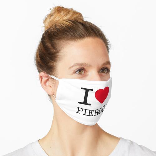 I LOVE PIEROGI Maske