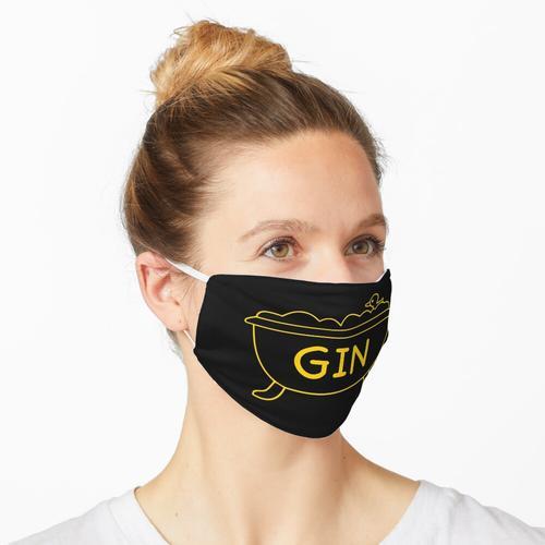 Badewanne Gin Maske
