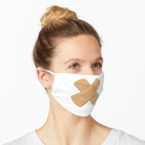 Pflaster Kreuz Design Maske