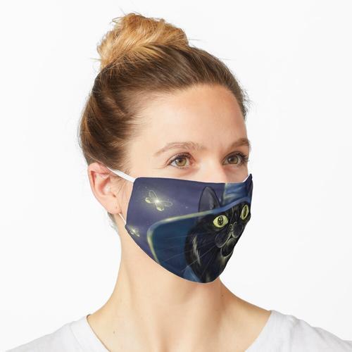 Leuchtkäfer Maske