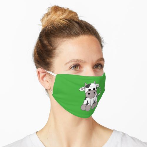 Kuschelige Kuh Maske