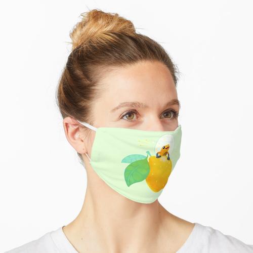 Goldenes Gift Zitronensorbet 1 Maske