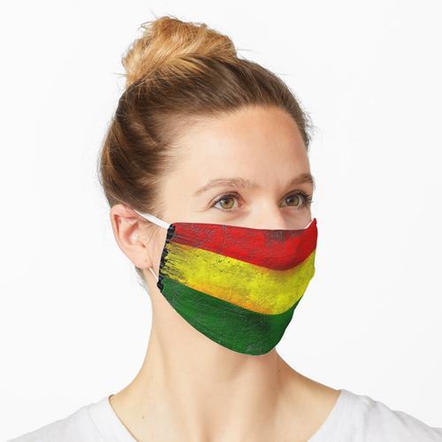 Reggae Fahne Maske