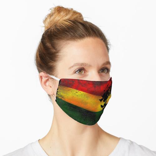 reggae löwe mit fahne Maske