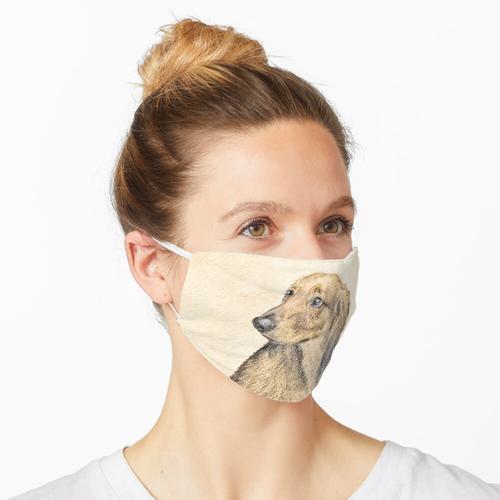 Dackel (Langhaarig) Maske