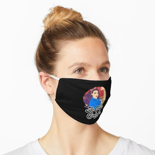 Air Traffic Controller Weibliche Vintage Starke Frau Maske