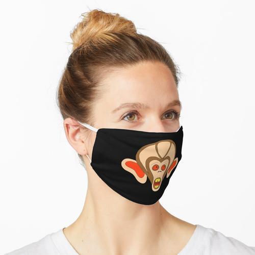 Schreiender Affe Maske