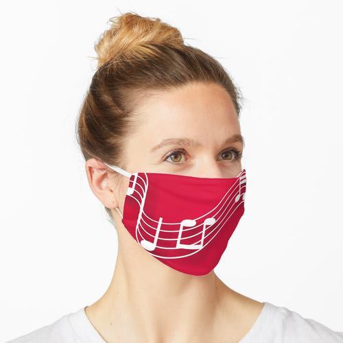 Musikpartitur Maske