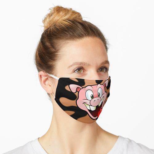Geile Sau - lustiges Schwein Maske