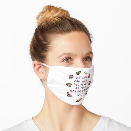 Essen ist Treibstoff Maske