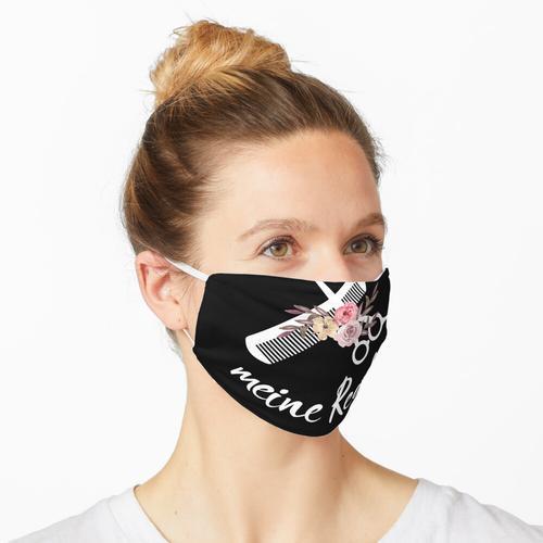 Meine Schere Meine Regeln Friseurin Friseur Maske