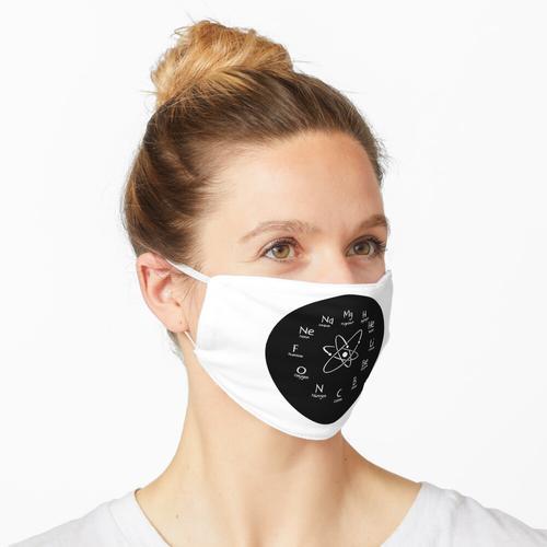 Chemieuhr für Liebhaber der Chemie Maske