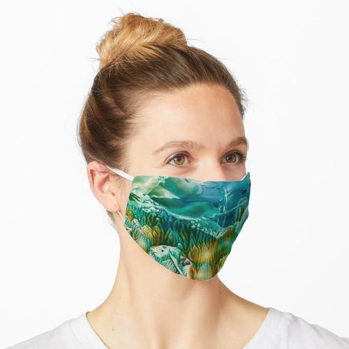 Encaustic Seascape Maske