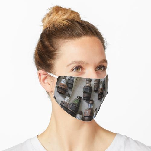 Eingesteckt Maske