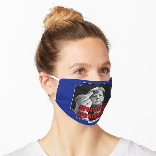 MERKEL: MEIN Wille geschehe! | Stinkefinger Maske