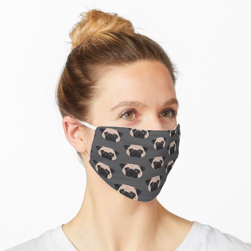 Winston der Mops Maske
