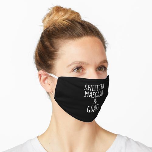 Schweiß Tee Mascara Ziegen Maske