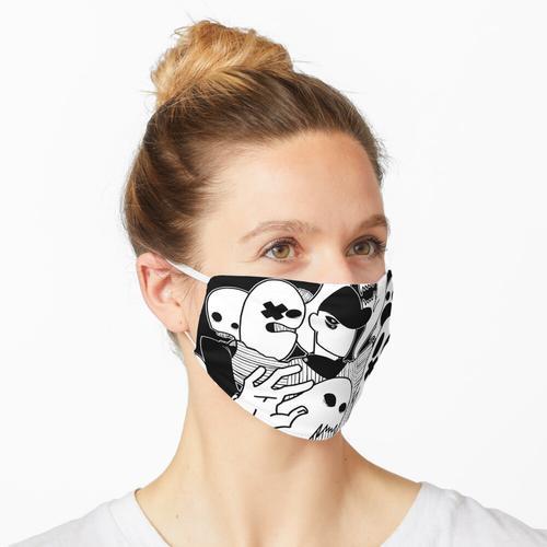 Pfeffersteak (schwarz) Maske