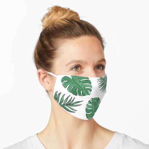 Pflanzenblätter Maske